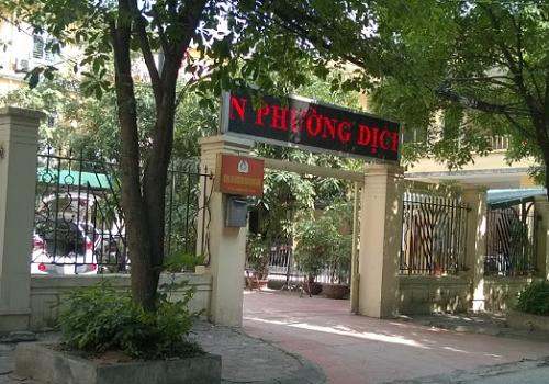 Công an Phường Dịch Vọng Hậu - 36, Trần Thái Tông,  Phường Dịch Vọng Hậu