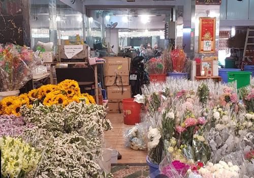 Chợ Hoa Hồ Thị Kỷ - Hẻm 52 Hồ Thị Kỷ, Phường 1, Quận 10