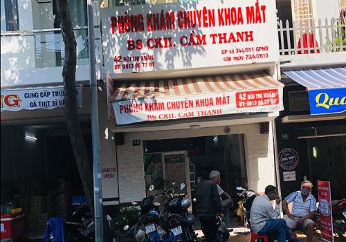 Phòng Khám Mắt - Bs CKII Cẩm Thanh - 42 Bùi Thị Xuân, An Hội, Ninh Kiều