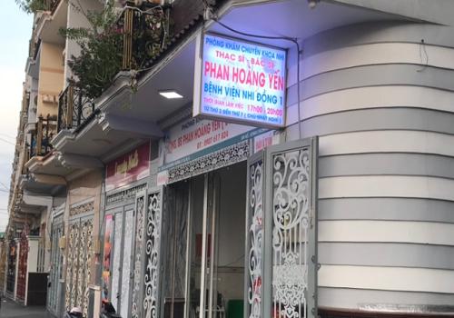 Phòng Khám Nhi Bs. Phan Hoàng Yến - 39/33 An D. Vương, Phường 16, Quận 8