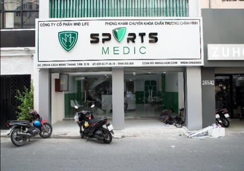 Phòng khám Cơ Xương Khớp Sports Medic, 44 Hẻm 285 Cách Mạng Tháng Tám, Phường 12