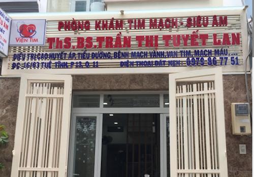Phòng Khám Tim mạch- Siêu âm ThS.BS.Trần Thị Tuyết Lan