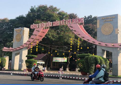 Công viên văn hoá Lê Thị Riêng - 875 Cách Mạng Tháng Tám, Quận 10
