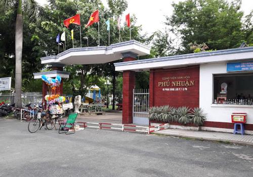 Công viên Văn hóa Phú Nhuận - 49 Phan Đăng Lưu, Phú Nhuận