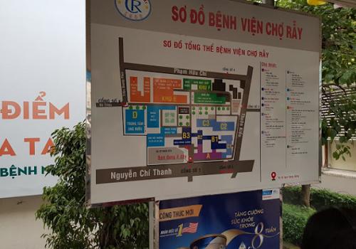 Bệnh viện Chợ Rẫy, 201B Nguyễn Chí Thanh, Phường 12, Quận 5