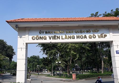 Công viên Làng hoa Gò Vấp - Đường Lê Văn Thọ, phường 8, Gò Vấp