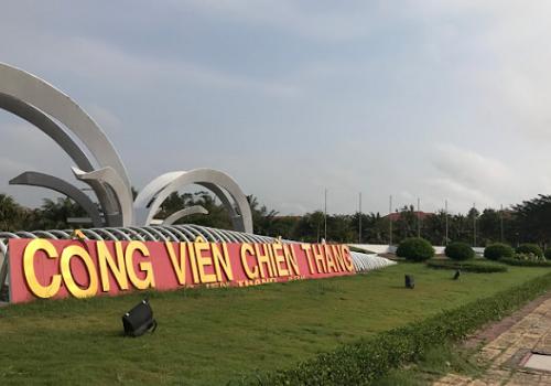 Công viên Chiến Thắng - Phường 5, Vị Thanh, Hậu Giang