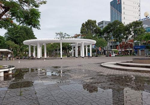 Công viên Lưu Hữu Phước, Đại lộ Hoà Bình, An Lạc, Ninh Kiều, Cần Thơ