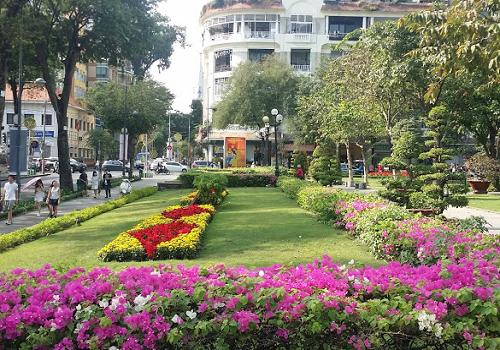Công viên Chi Lăng, Lê Thánh Tôn, Bến Nghé, Quận 1