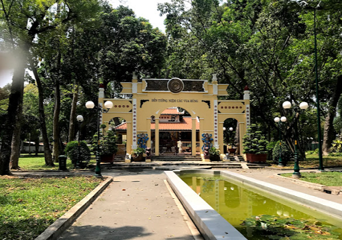 Đền Tưởng niệm các Vua Hùng, Đ Trương Định, Phường Bến Thành, Quận 1