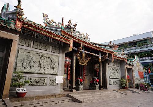 Chùa Ông, Hội quán Nghĩa An, 678 Nguyễn Trãi, Phường 11, Quận 5