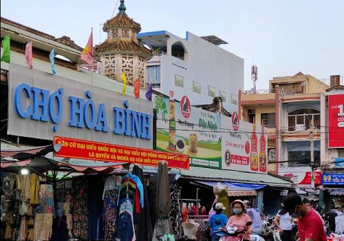 Chợ Hoà Bình, 37 Bạch Vân, Phường 5, Quận 5, TPHCM