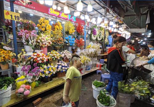Chợ Hoa Hồ Thị Kỷ, Hẻm 52 Hồ Thị Kỷ, Phường 1, Quận 10