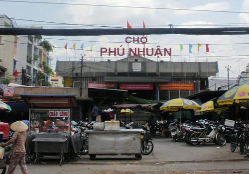 Chợ Phú Nhuận 123 Phan Đình Phùng, Phường 17, Phú Nhuận