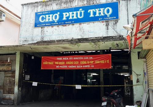 Chợ Phú Thọ, 124 Lãnh Binh Thăng, Phường 12, Quận 11