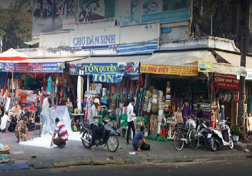Chợ dân sinh Yersin, 104n Yersin, Phường Nguyễn Thái Bình, Quận 1