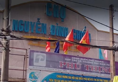 Chợ Nguyễn Đình Chiểu, 34 Lê Tự Tài, Phường 4, Phú Nhuận