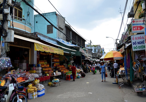 Chợ Bà Hoa, Đ Trần Mai Ninh, Phường 12, Tân Bình, Thành phố Hồ Chí Minh