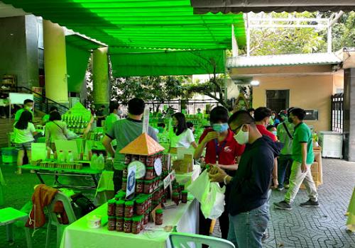 Phiên Chợ Xanh Tử tế, 135A Pasteur, Phường 6, Quận 3