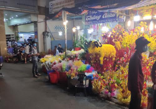 Chợ Hoa Hậu Giang, Phường 12, Quận 6, TPHCM