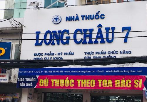 Nhà Thuốc Long Châu 7 - 424 Cách Mạng Tháng Tám, Phường 10, Quận 3, Thành phố Hồ Chí Minh