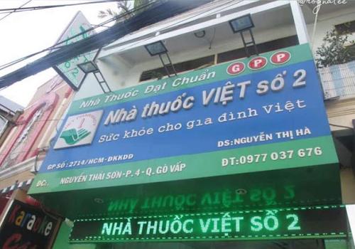 Nhà Thuốc Việt Số 2 - 137 Nguyễn Thái Sơn, Phường 4, Gò Vấp, Thành phố Hồ Chí Minh