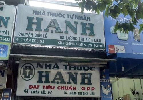 Nhà Thuốc Hạnh - 41 Thuận Kiều, Phường 12, Quận 5, Thành phố Hồ Chí Minh