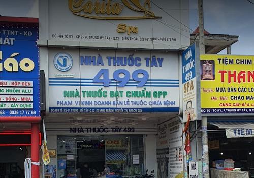 Nhà Thuốc 499 - 499 Tô Ký, Trung Mỹ Tây, Quận 12, Thành phố Hồ Chí Minh