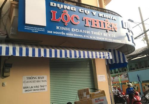 Dụng Cụ Y Khoa Lộc Thiện chợ thuốc sỉ lớn nhất TP HCM