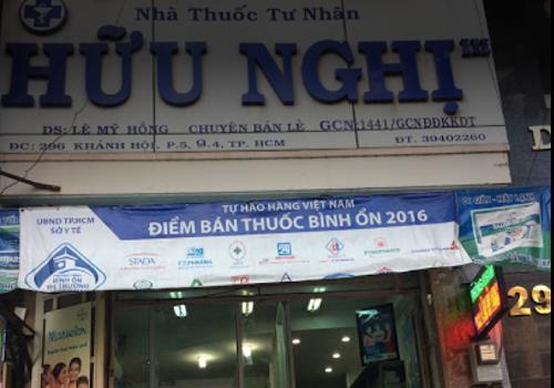 Nhà thuốc tây Hữu Nghị - 296 Khánh Hội, Phường 5, Quận 4, Thành phố Hồ Chí Minh