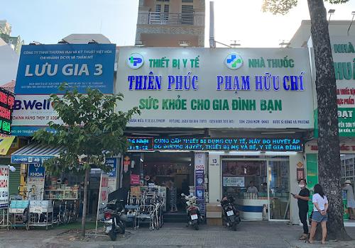 Nhà Thuốc PHẠM HỮU CHÍ, 13 Thuận Kiều, Phường 12, Quận 5, TPHCM