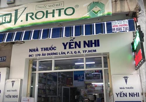 Nhà Thuốc Yến Nhi - 170 Âu Dương Lân, Phường 3, Quận 8, Thành phố Hồ Chí Minh