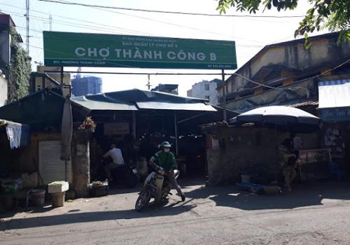 Chợ Thành Công B, Thành Công, Ba Đình, Hà Nội
