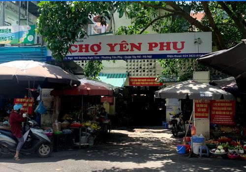 Chợ Yên Phụ, Ngõ 108 Nghi Tàm, Yên Phụ, Tây Hồ, Hà Nội