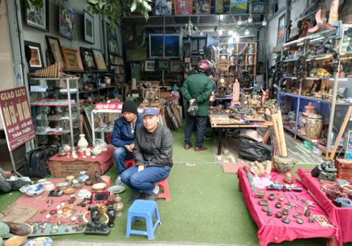 Chợ đồ cũ Vạn Phúc, Kim Đồng, Vạn Phúc, Hà Đông, Hà Nội