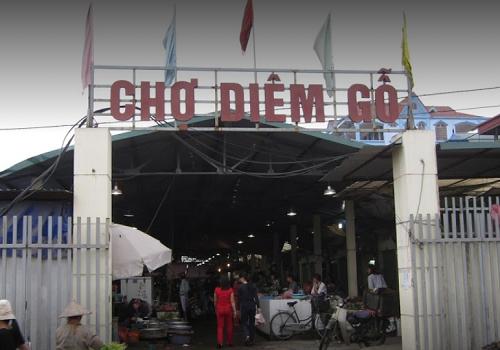 Chợ Diêm Gỗ - Đức Giang, Long Biên, Hà Nội