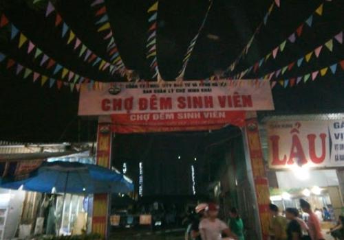 Chợ Đêm Sinh Viên Nhổn - 16 Từ Liêm, Hà Nội, Việt Nam