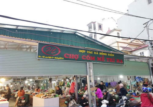 Chợ Cốm Mễ Trì Hạ, Số 100 Ngõ 57 Phố, Mễ Trì Hạ, Từ Liêm, Hà Nội