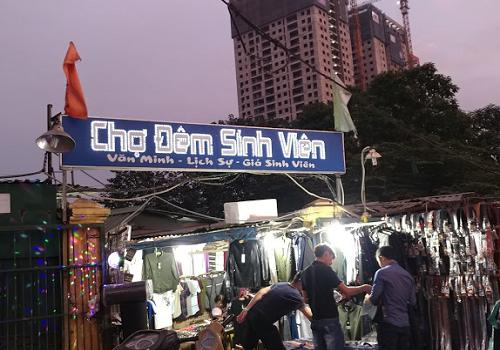 Chợ Sinh Viên, 12 Xuân Thủy, Dịch Vọng Hậu, Cầu Giấy, Hà Nội
