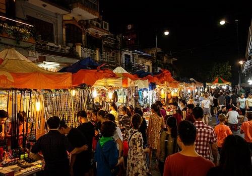 Chợ Đêm Phố Cổ Hà Nội, Hàng Bạc, Hàng Đào, Hoàn Kiếm, Hà Nội