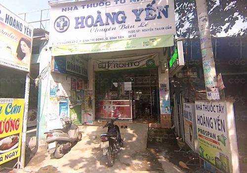 Nhà Thuốc Tây Hoàng Yến - 673 HL2, Bình Trị Đông A, Bình Tân, Thành phố Hồ Chí Minh