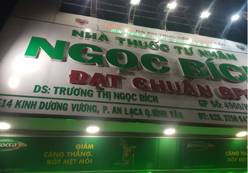 Nhà Thuốc Ngọc Bích - 514 Kinh Dương Vương, An Lạc, Bình Tân, Thành phố Hồ Chí Minh