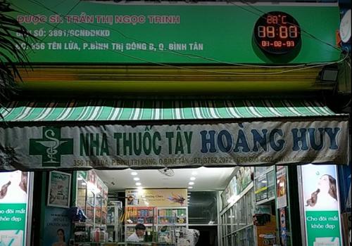 Nhà thuốc tây Hoàng Huy - 356 Tên Lửa, Bình Trị Đông B, Bình Tân, Thành phố Hồ Chí Minh