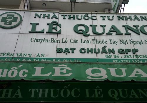 Nhà Thuốc Tư Nhân Lê Quang - 83 Đường số 1, An Lạc A, Bình Tân, Thành phố Hồ Chí Minh