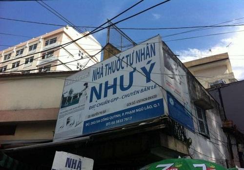 Nhà Thuốc Như Ý - 282 Cống Quỳnh, Phường Phạm Ngũ Lão, Quận 1, Thành phố Hồ Chí Minh