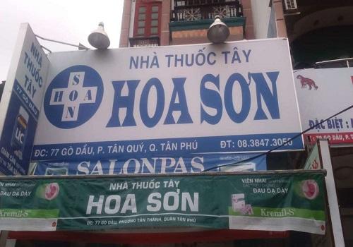 Nhà Thuốc Tây Hoa Sơn - 77 Gò Dầu, Tân Quý, Tân Phú, Thành phố Hồ Chí Minh