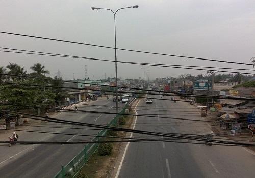 Cầu vượt ngã tư ga, Thạnh Lộc, Quận 12, Thành phố Hồ Chí Minh