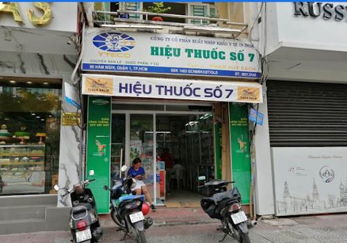 Hiệu thuốc Số 7 - 90 Hàm Nghi, Bến Nghé, Quận 1, Thành phố Hồ Chí Minh