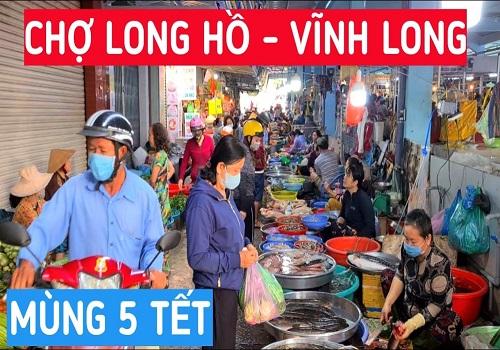 Chợ Long Hồ, Đ QL53, Long Hồ, Vĩnh Long