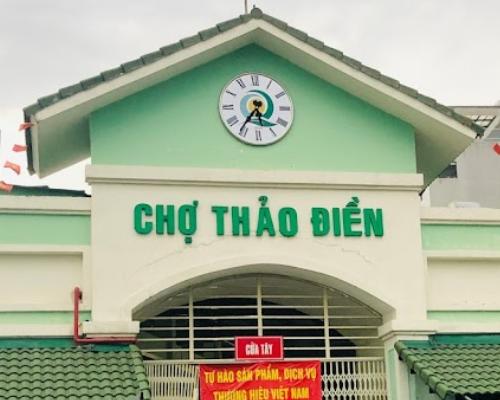 Chợ Thảo Điền, Đ Nguyễn Văn Hưởng, Thảo Điền, Quận 2, TPHCM